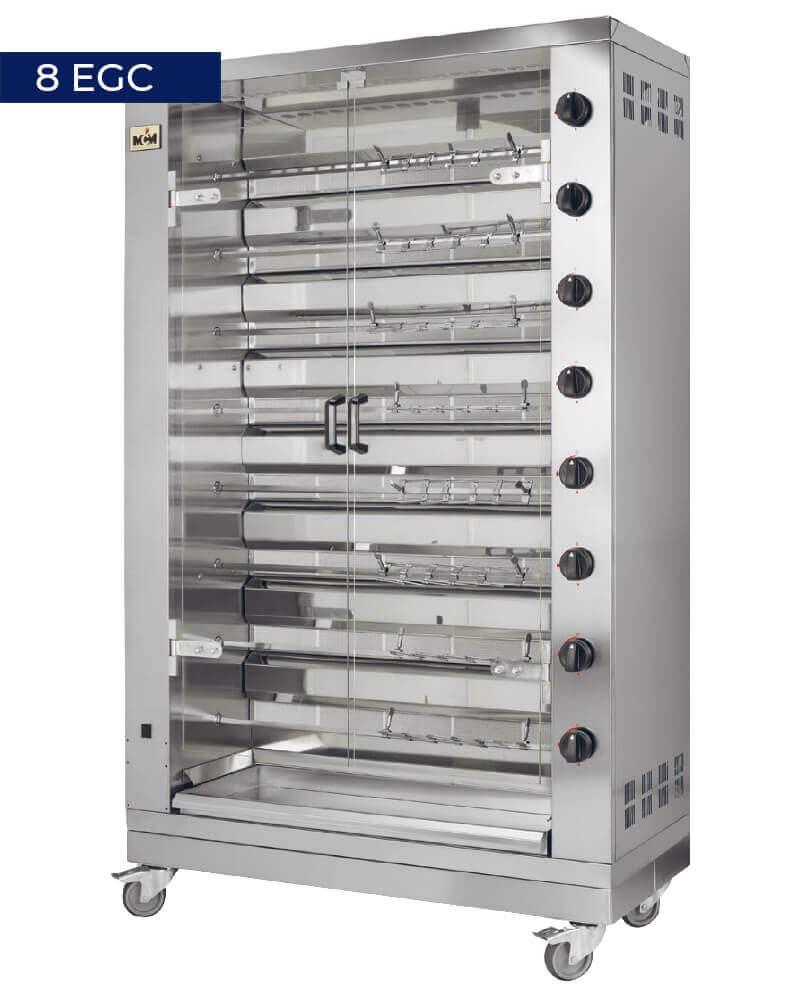 Asador compacto 8 EGC