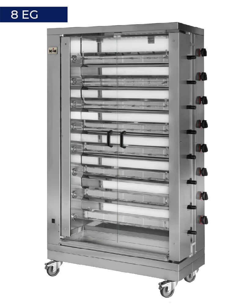 8 EG Vertical roasters
