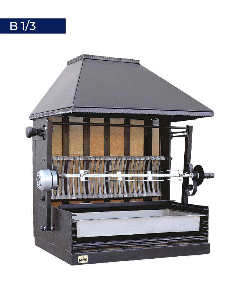 B/13 Spit roaster and barbecue