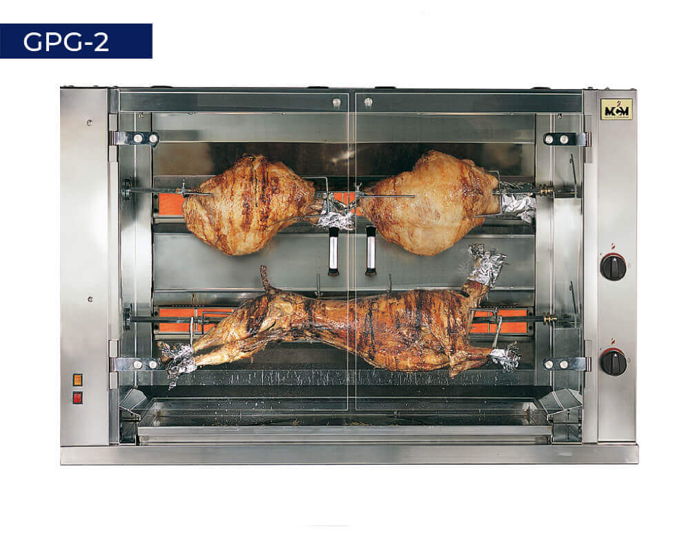 GPG-2 Large pieces roasters
