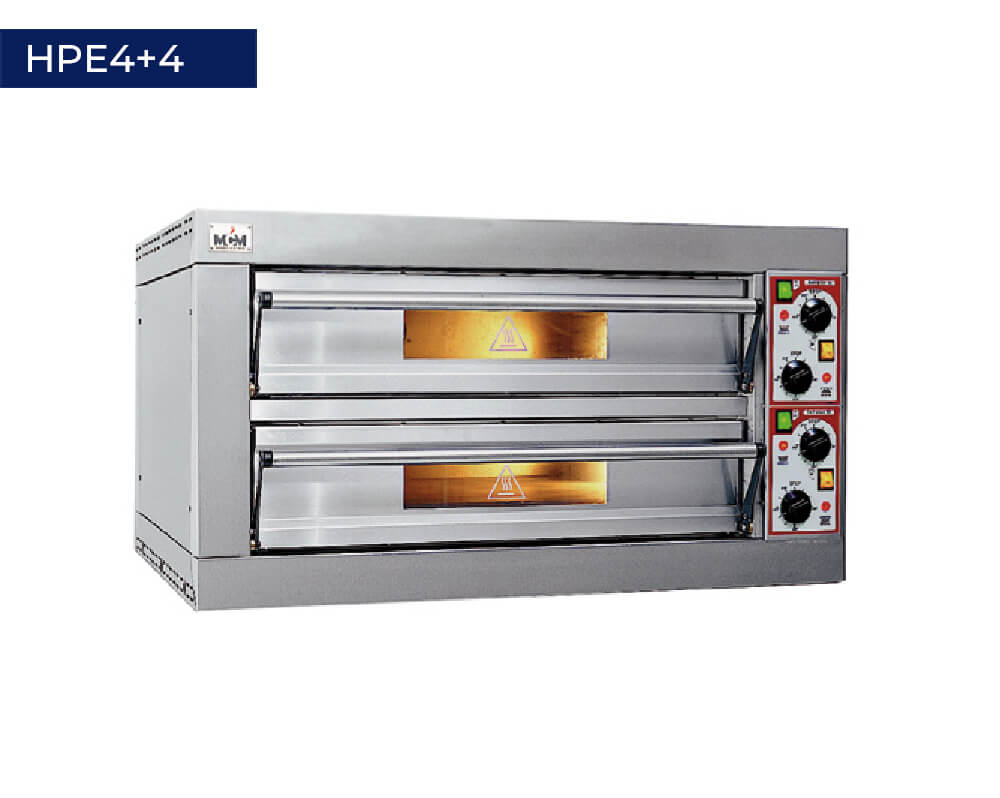 Pizza oven HPE4+4