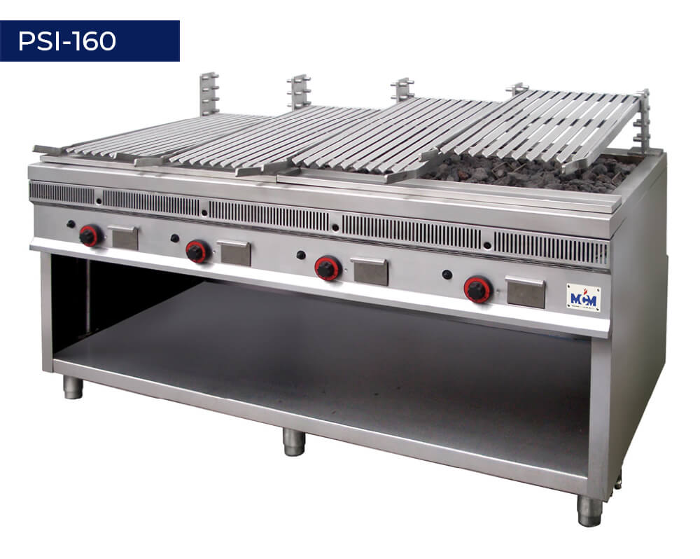 Single deck grills PSI-160