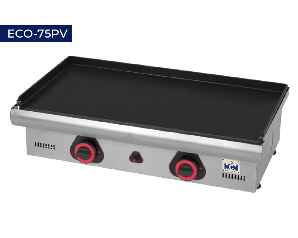 Coated hot plate ECO 75PV