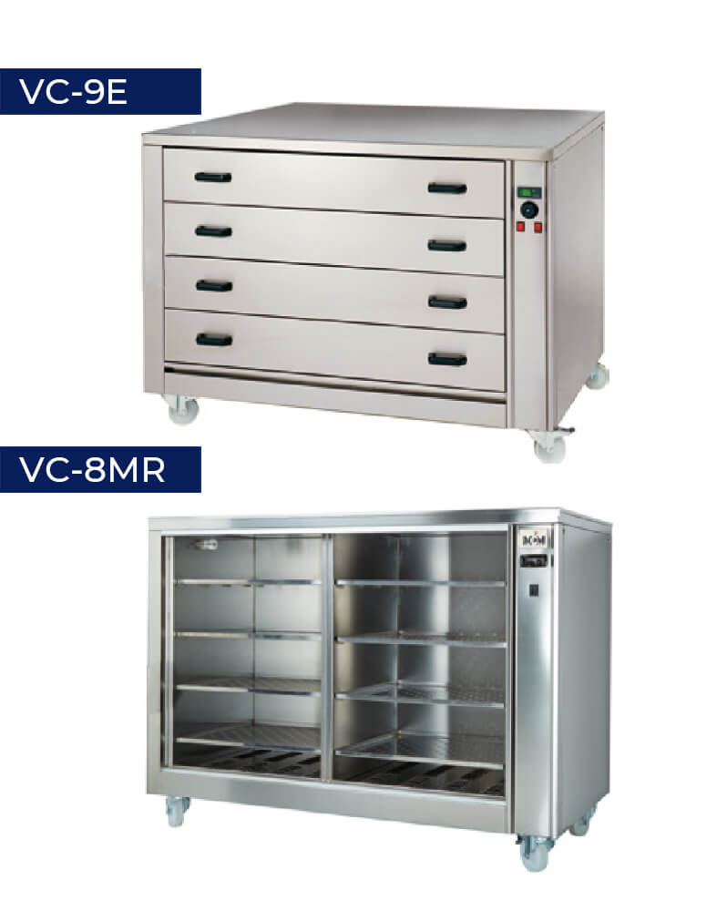Soporte calefactable VC-9E VC-8MR