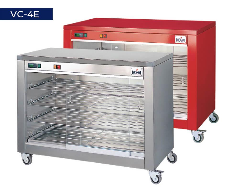 Vitrinas calefactoras VC-4E